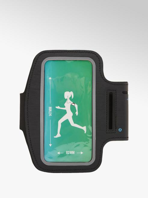 Fit Essentials Zwarte smartphone sport bracelet