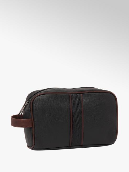 Borelli London Collection Mens Leather Wash Bag
