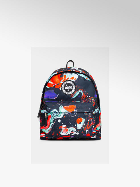 Hype HYPE Red Marble Multicoloured Backpack