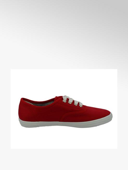 Tom Tailor Дамски червени текстилни кецове Tom Tailor