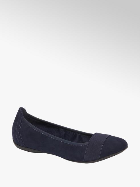 Graceland Donker blauwe ballerina
