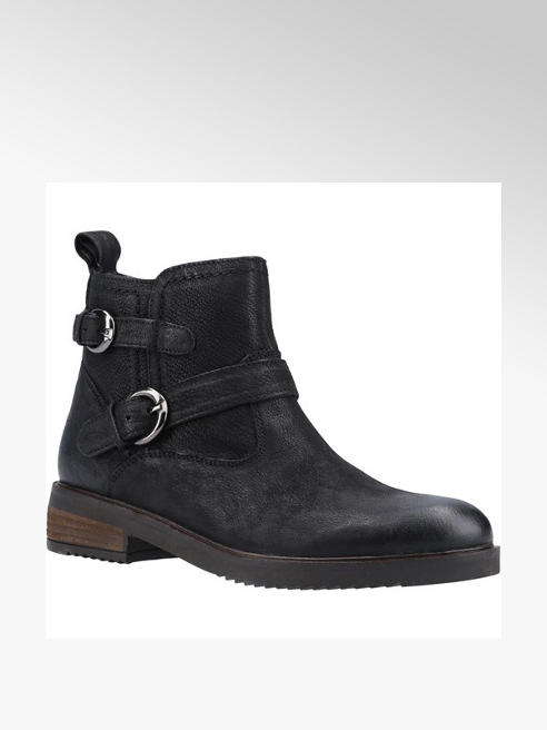 Hush Puppies Black Leather Chelsea Boots