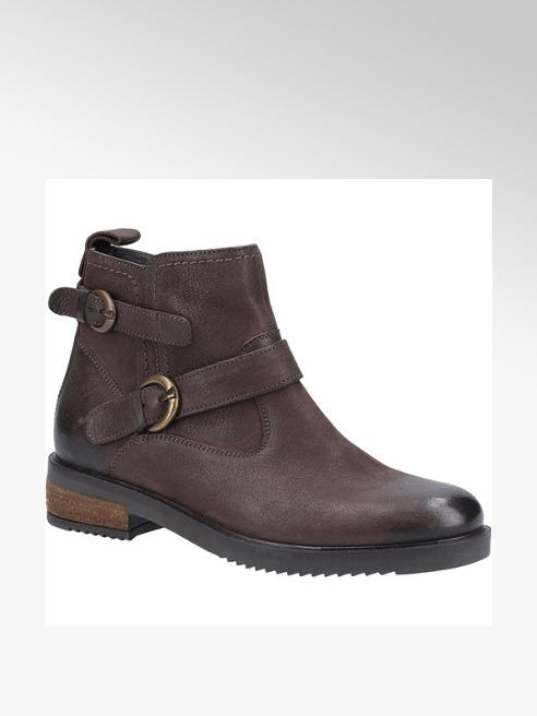 Hush Puppies Brown Leather Chelsea Boots