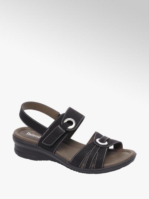 Björndal Zwarte sandaal velcro