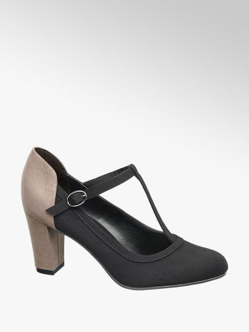 Graceland Дамски обувки с каишка и висок ток