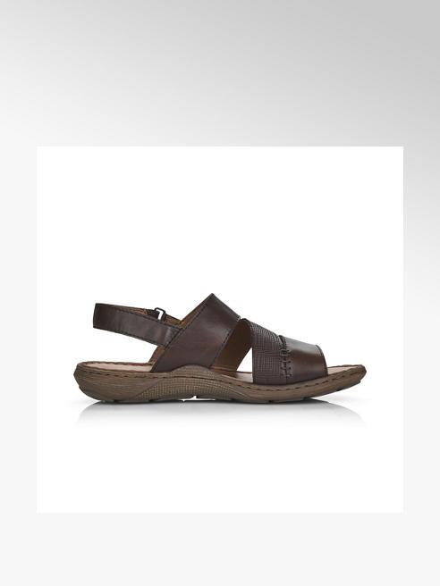 Rieker Мъжки тъмнокафяви сандали Rieker