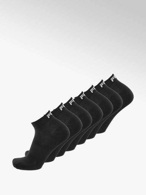 Fila Zwarte quarter sokken mt 39-42
