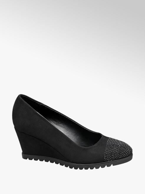 Graceland Zapato de cuña con cristales