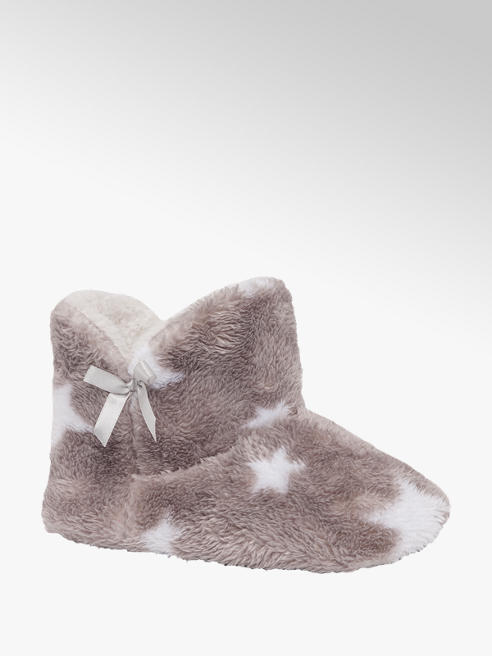 Cupcake Couture Junior Girls Star Boot Slippers
