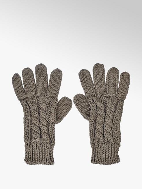 Ladies Plaited Gloves