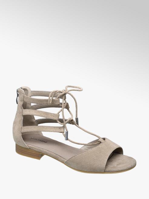 Graceland Дамски сандали с връзки и цип