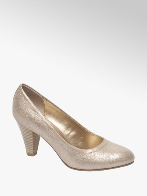 Graceland Gouden metallic pump