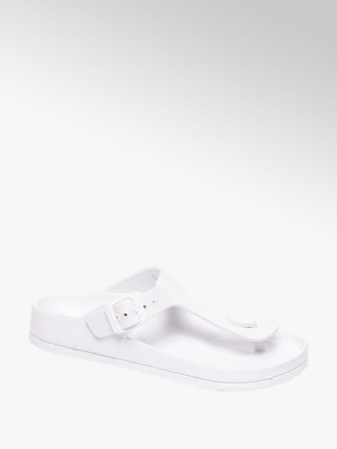 Witte sandaal gesp