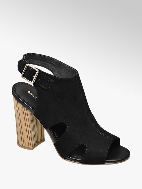Graceland Kalın Topuklu Sandalet