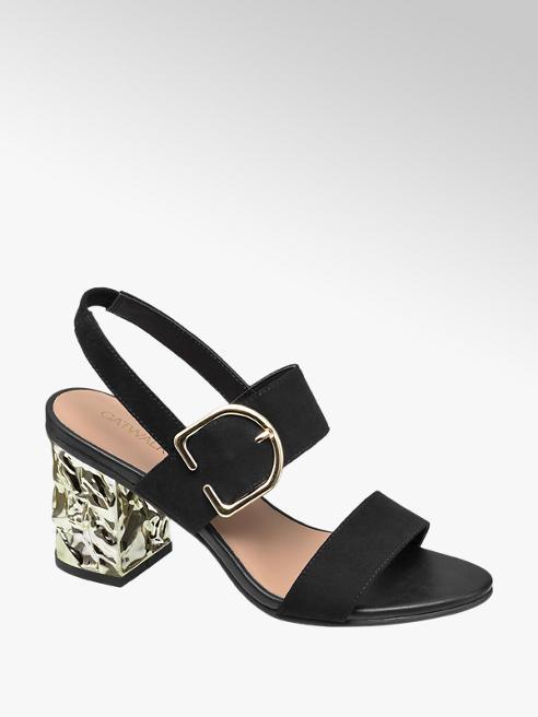 Catwalk Kalın Topuklu Sandalet