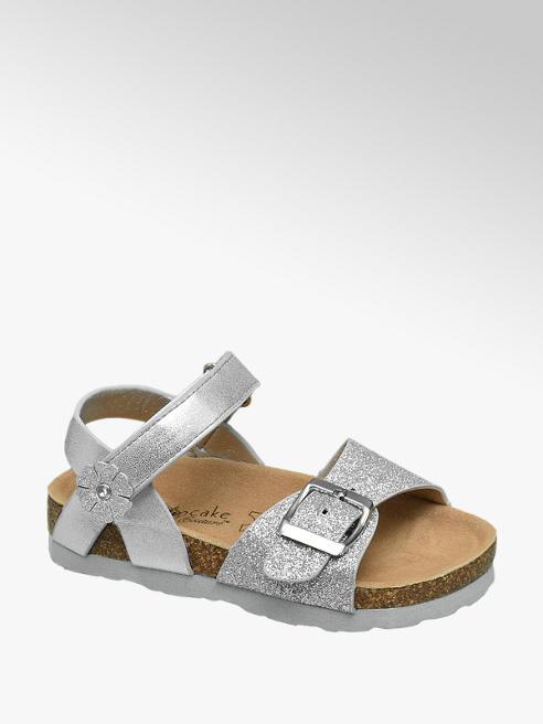 Cupcake Couture Zilveren sandaal glitters