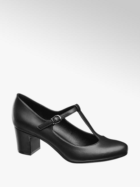 Graceland Siyah Topuklu Ayakkabı
