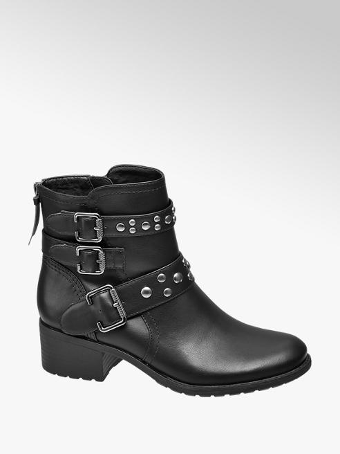 Graceland Buckle Strap Ankle Boot