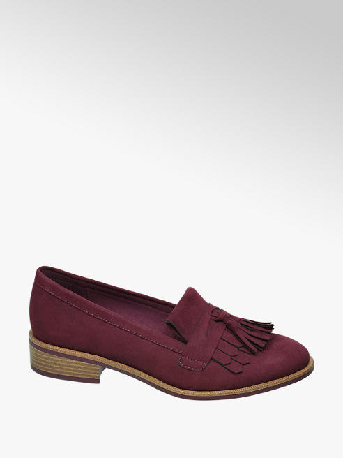 Graceland Bordo Loafer