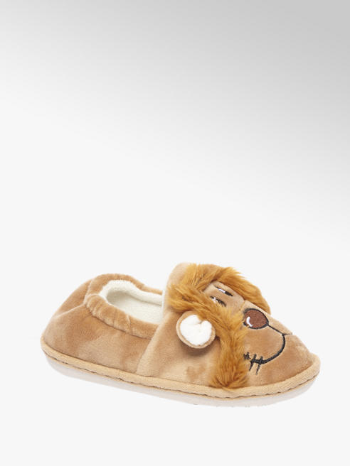 Bruine pantoffel leeuw