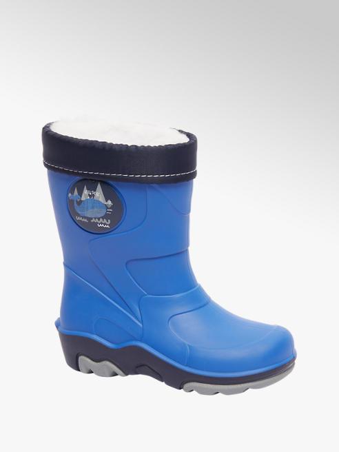 Cortina Blauwe regenlaars warmgevoerd