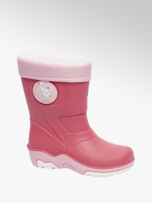 Cortina Roze gevoerde regenlaars