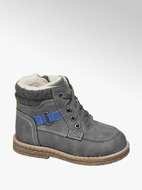 Bobbi-Shoes Детски боти с връзки и цип