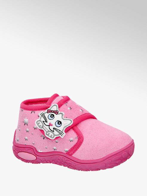 Cupcake Couture Roze pantoffel klittenband