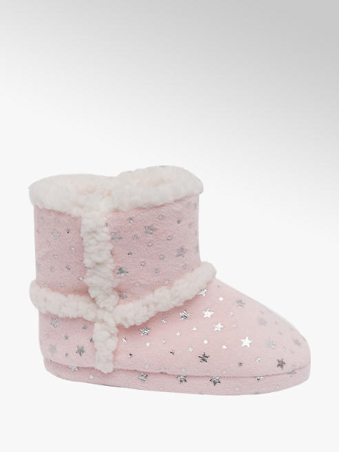Cupcake Couture Toddler Girl Star Slipper Boots