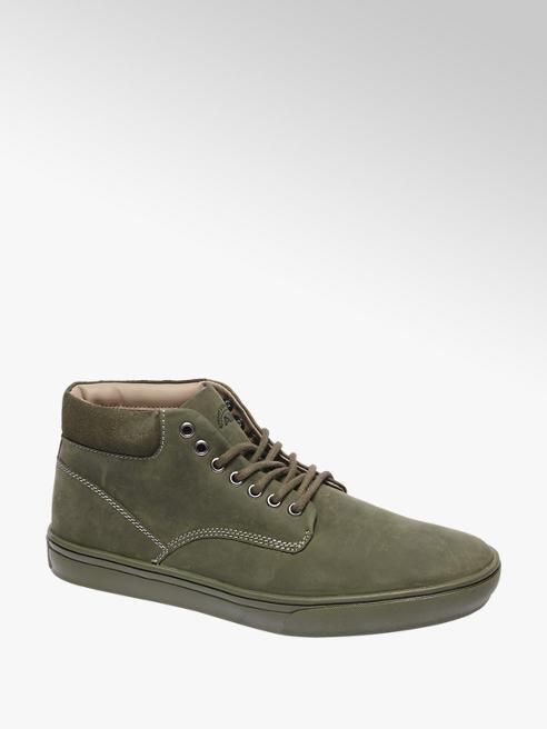AM shoe Groene leren sneaker