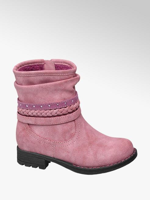 Cupcake Couture Roze enkellaars bandjes