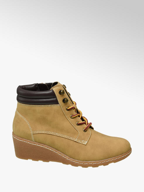 Graceland Camel Veterboot sleehak