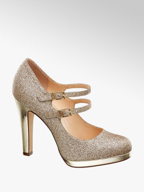 Graceland Дамски обувки с ток и каишки