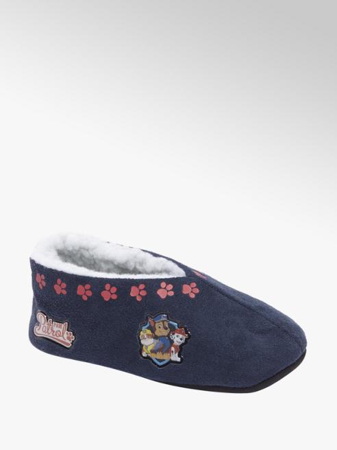 Blauwe paw patrol pantoffel gevoerd