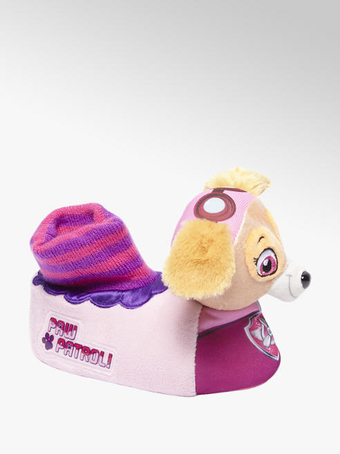 Paw Patrol Roze hond pantoffel