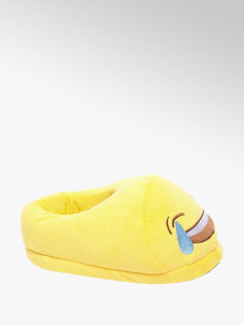 Casa mia Gele Emoticon pantoffel