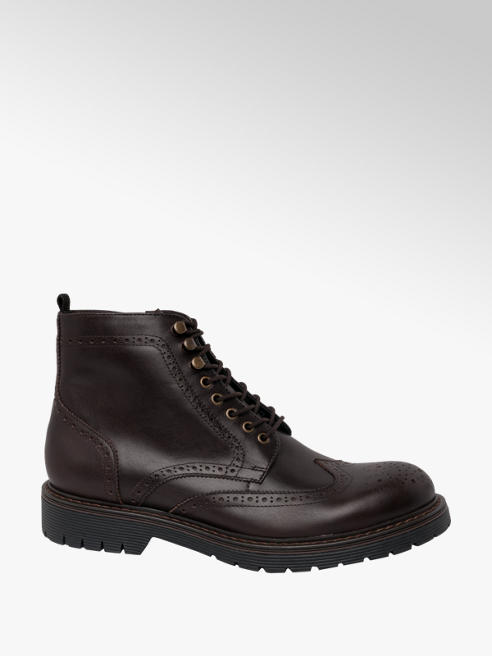 Borelli London Collection Borelli London Casual Lace-up Boots