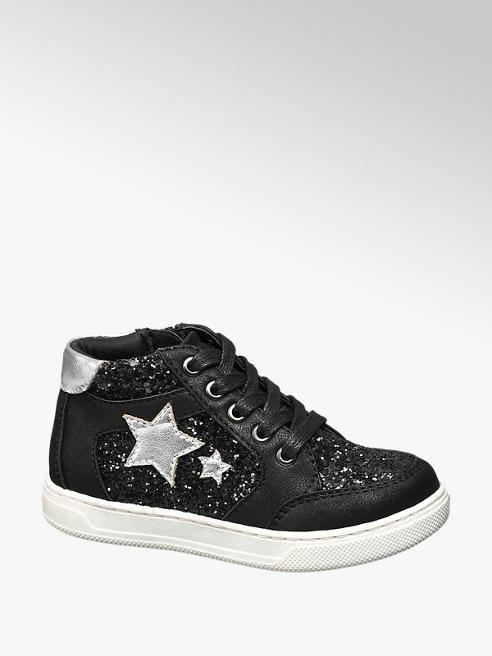 Cupcake Couture Sneaker de caña alta glitter