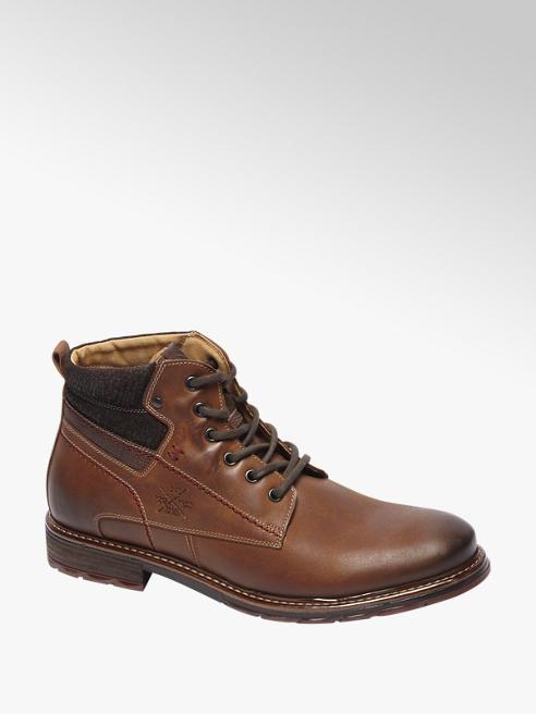 AM shoe Kastanje leren boot