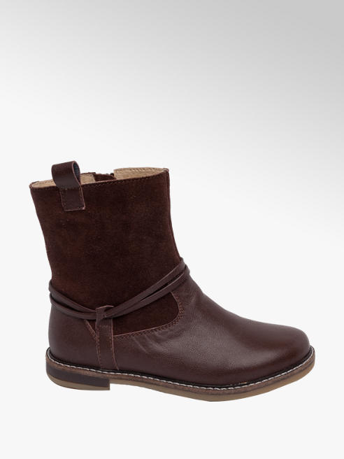 Graceland Junior Girl Leather & Suede Ankle Boots