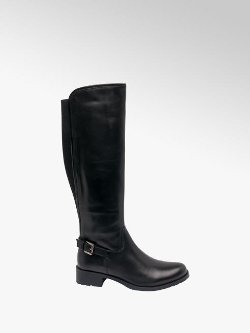 5th Avenue Leather Long Leg Boot