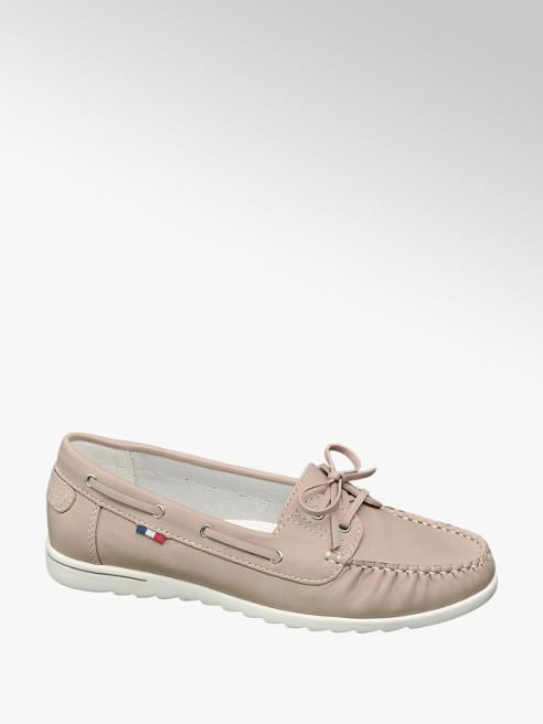 Graceland Lichtroze loafer veter