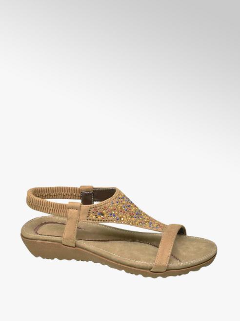 Björndal Beige sandaal studs