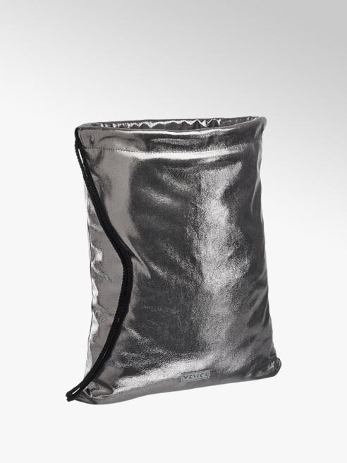 Venice Metallic zilveren tas