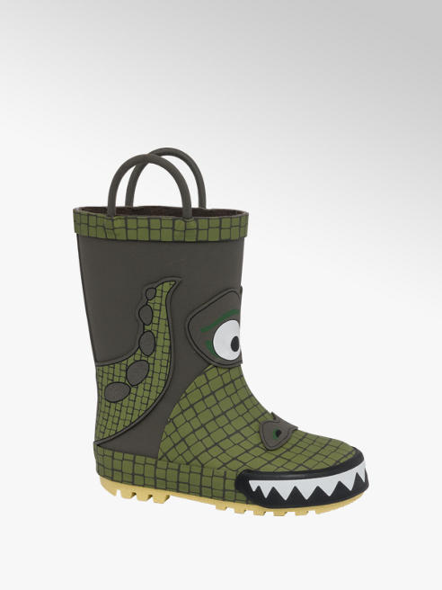 Toddlers Crocodile Wellingtons