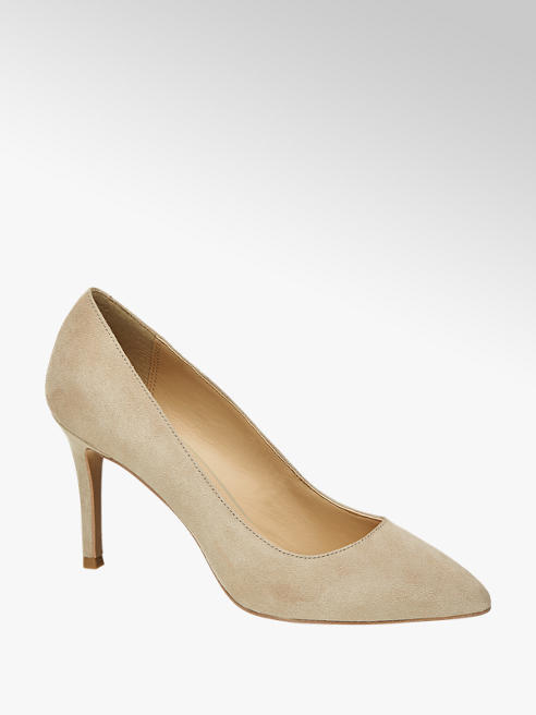 5th Avenue Beige suède pump