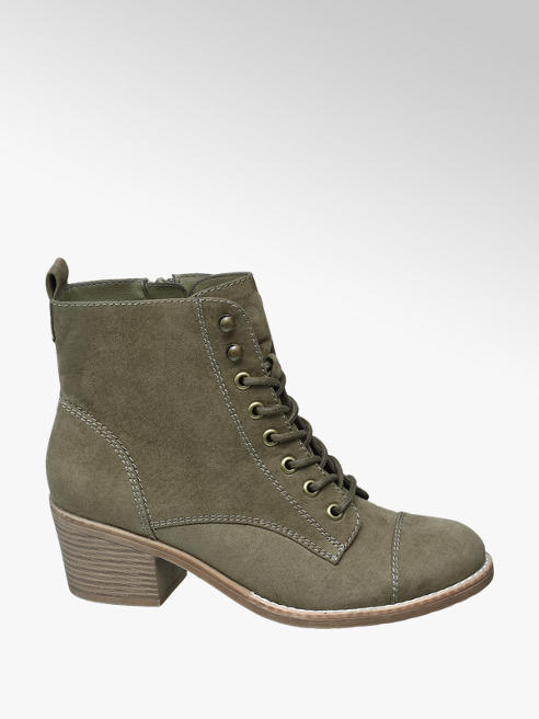 Graceland Kaki veterboot