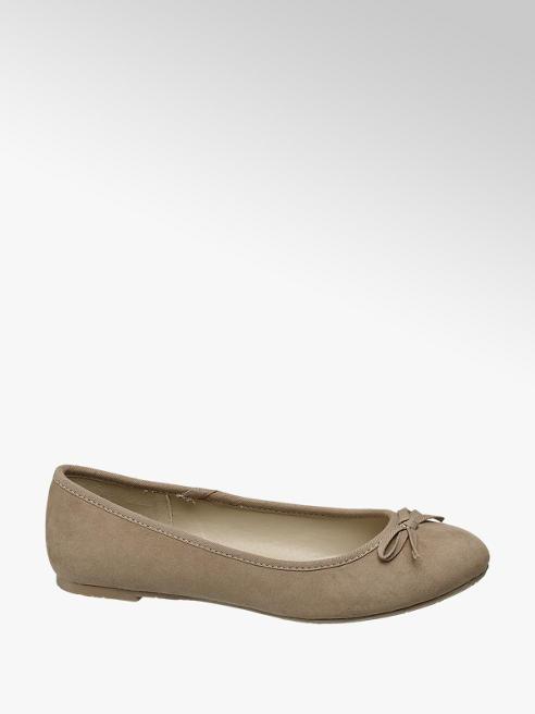Graceland Beige ballerina strik