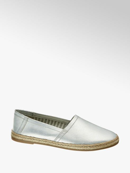 5th Avenue Espadrilla argento