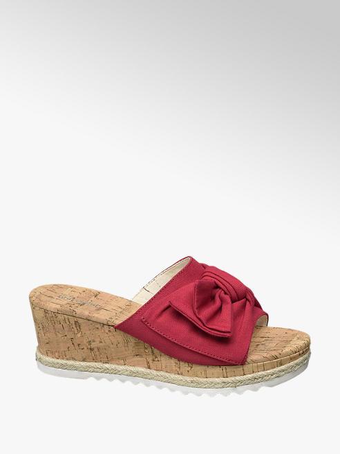 Graceland Rode slipper sleehak
